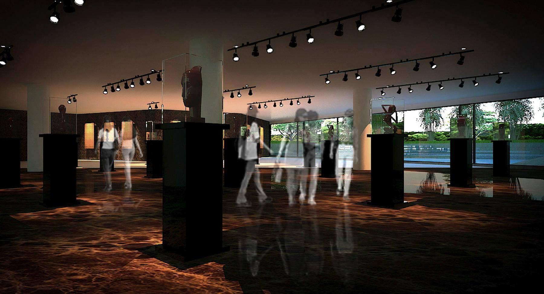 Julio Julianto Museum Batik Indonesia At Tmii Jakarta, Indonesia Jakarta, Indonesia Gallery Kontemporer  5840