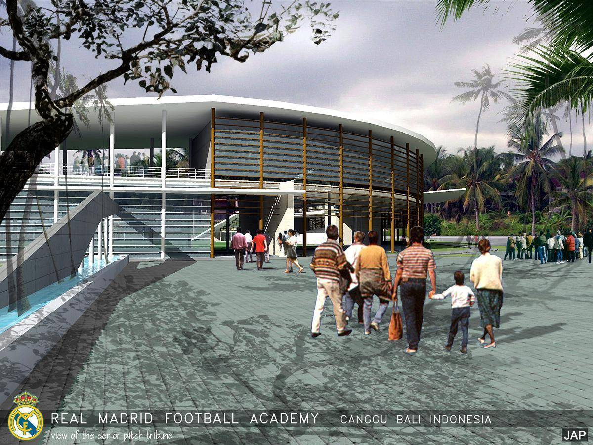 Julio Julianto Real Madrid Football Academy At Canggu Bali, Indonesia Bali, Indonesia Senior-Pitch-Tribune Modern  5850