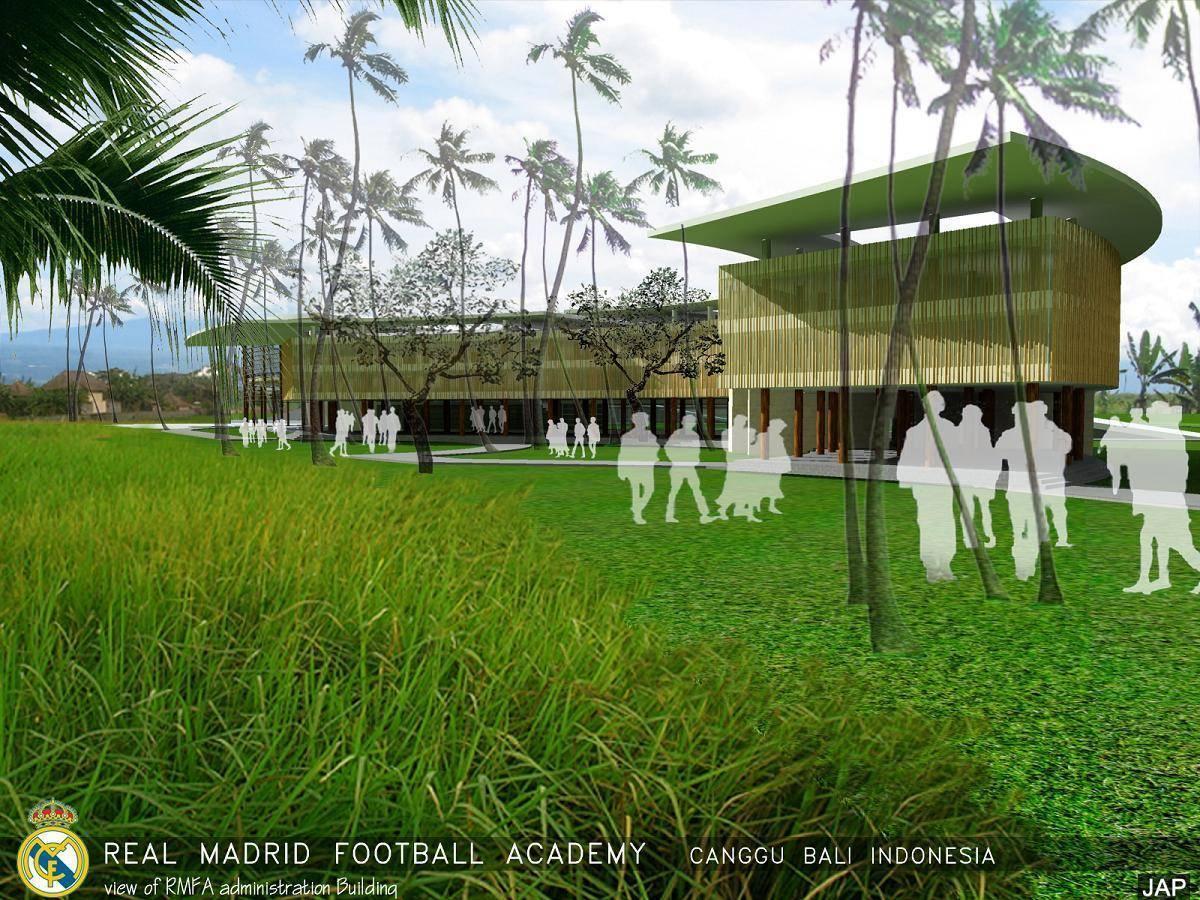 Julio Julianto Real Madrid Football Academy At Canggu Bali, Indonesia Bali, Indonesia Administration-Building-1 Modern  5851