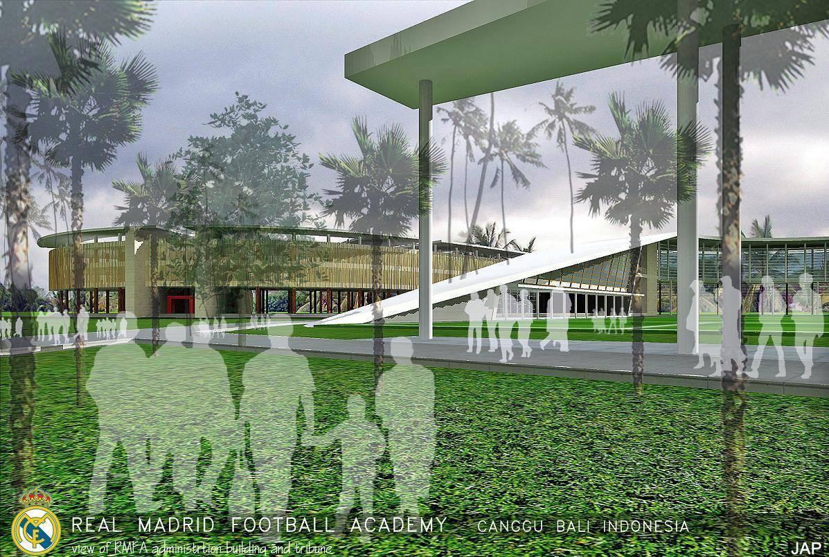 Julio Julianto Real Madrid Football Academy At Canggu Bali, Indonesia Bali, Indonesia Administration-Building-And-Tribune Modern  5853