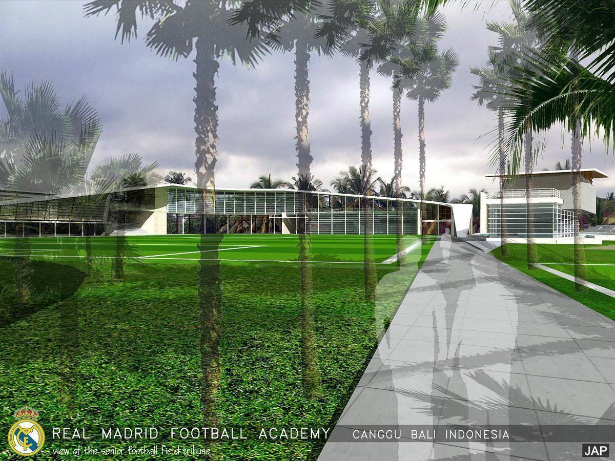 Julio Julianto Real Madrid Football Academy At Canggu Bali, Indonesia Bali, Indonesia Senior-Football-Field-Tribune Modern  5855