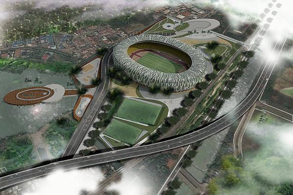 Julio Julianto Football Stadium At Bmw Garden Jakarta, Indonesia Jakarta, Indonesia Bird-Eye-View-1 Kontemporer  5862