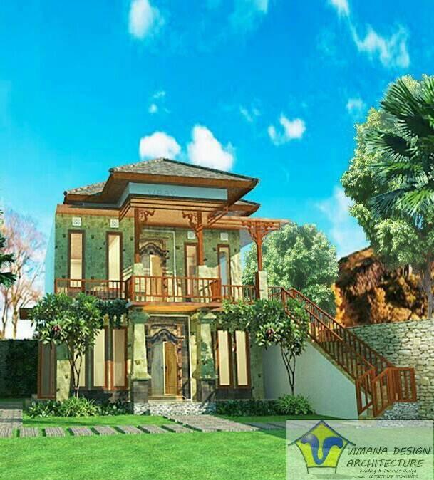 Vimana Design And Architecture House At Badung Bandung Bandung Front-View-1 Asian  6124