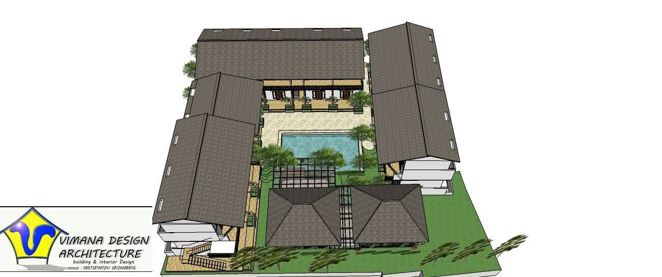 Vimana Design And Architecture Guest House Bali, Indonesia Bali, Indonesia Site-Plan   6132
