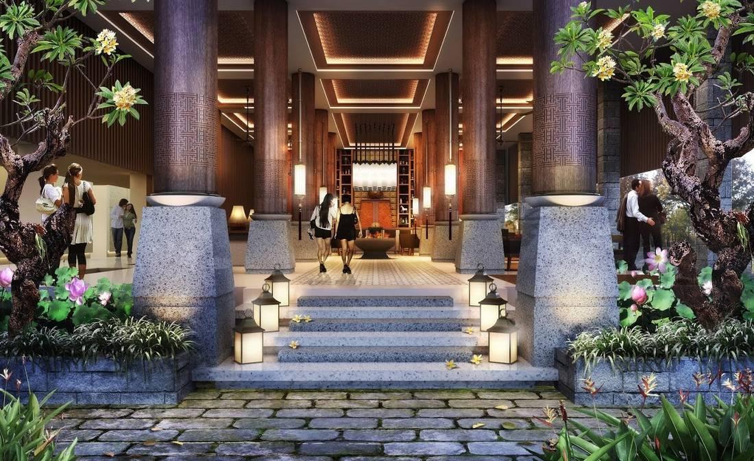 Yaph Studio Meritus Resort At Seminyak Bali, Indonesia Bali, Indonesia Lobby   6180