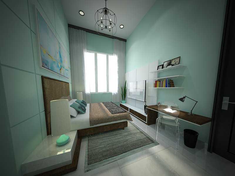 Ruang Komunal Bachelor House Bsd Golf - Tangerang Bsd Golf - Tangerang Guestroomb Modern  16433