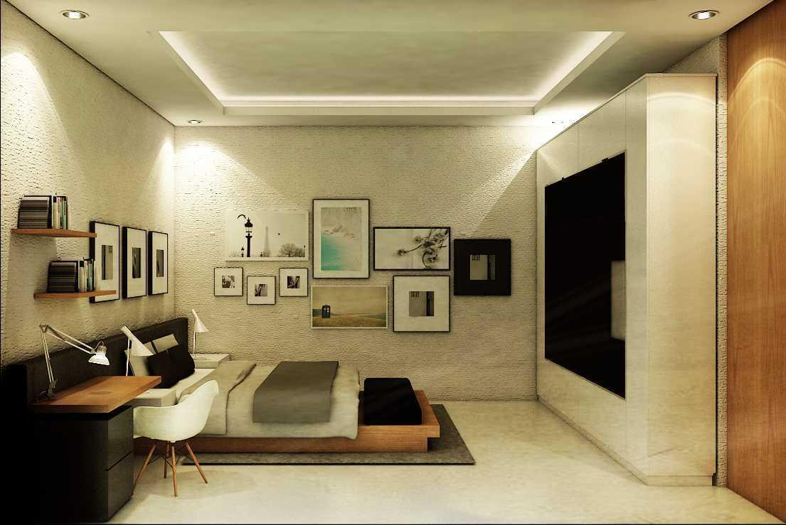 Ruang Komunal Tropic House Tegal Tegal Masterbedroom-View-2 Modern  16434