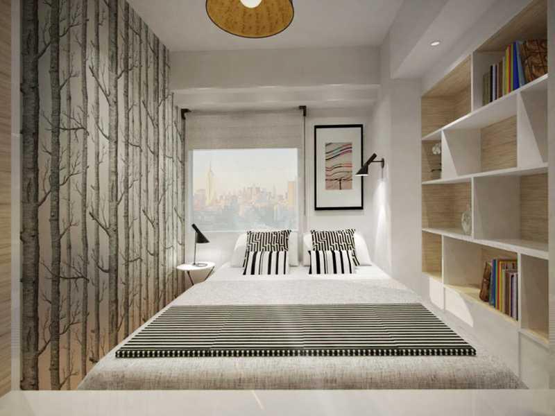 Ruang Komunal Compact Bedroom Jakarta Jakarta Bedroom Minimalis  16437