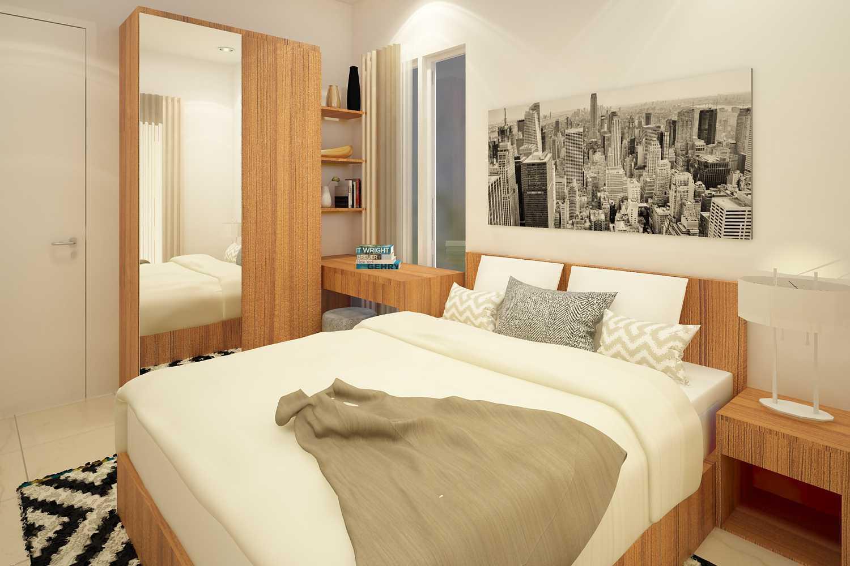 Ruang Komunal Darmawangsa Show Unit Bekasi Bekasi Masterbedroom-1 Skandinavia  21505