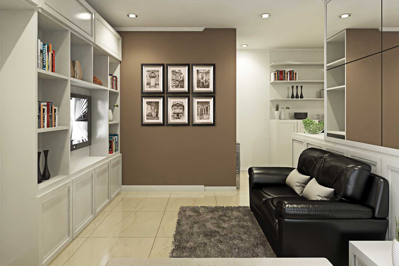 Ruang Komunal Nangka Residence Jakarta Jakarta Living-Room-2 Modern  28911