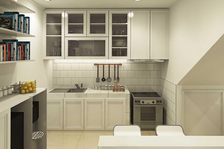 Ruang Komunal Nangka Residence Jakarta Jakarta Kitchen-Area Modern  28915