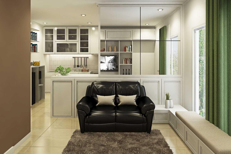 Ruang Komunal Nangka Residence Jakarta Jakarta Living-Room-1 Modern  28916