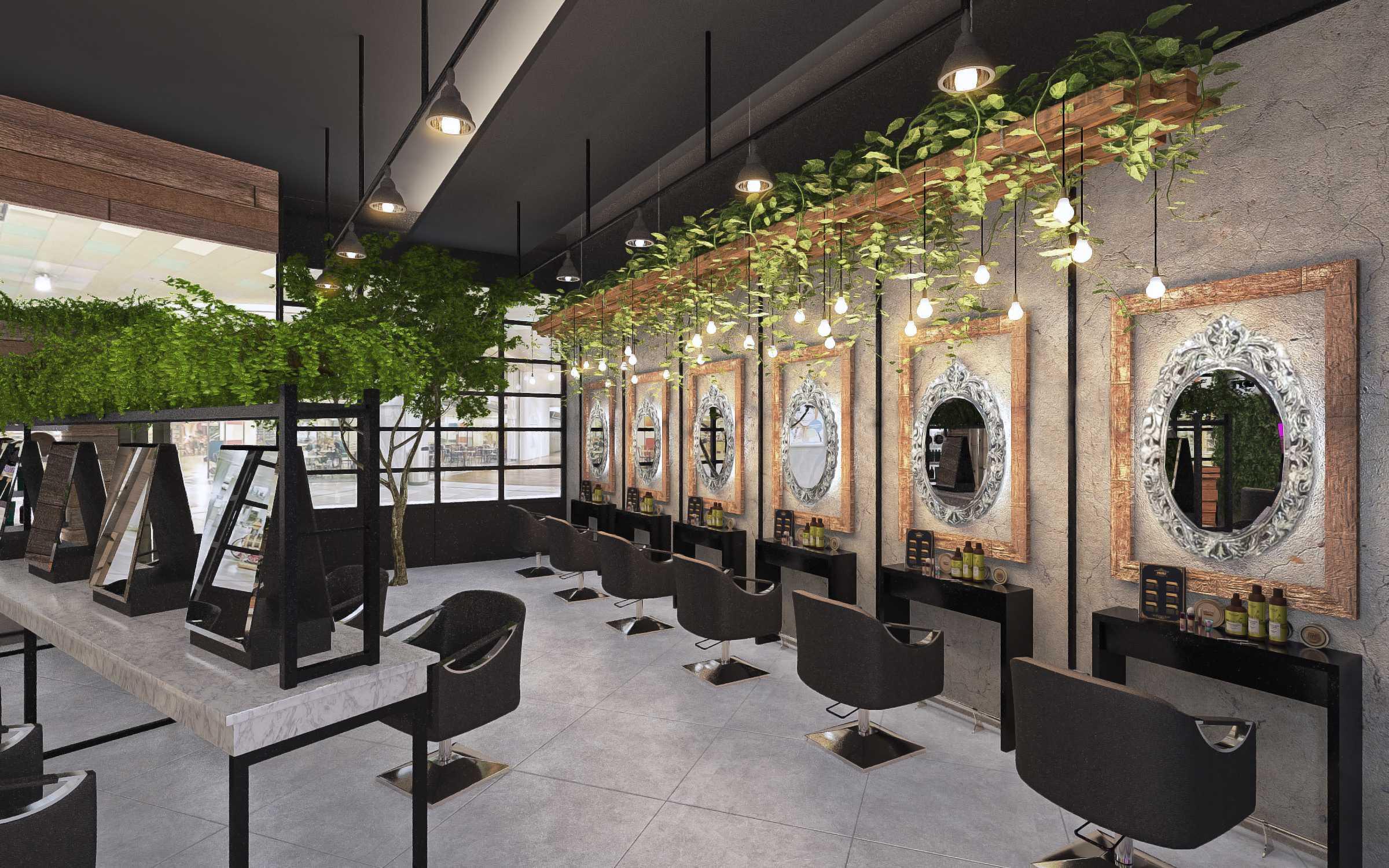 Ruang Komunal The Hair Dept Karawaci, Kota Tangerang, Banten, Indonesia Karawaci, Kota Tangerang, Banten, Indonesia Interior View Salon   52135