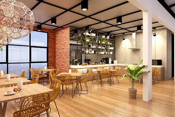 Ruang Komunal Grand Caman Hotel Bekasi, Kota Bks, Jawa Barat, Indonesia Bekasi, Kota Bks, Jawa Barat, Indonesia Seating Area Hotel Industrial  53156