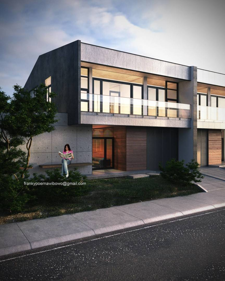 Franky Wibowo Minimal House Bandung, West Java, Indonesia Bandung, West Java, Indonesia Facade Modern  6462