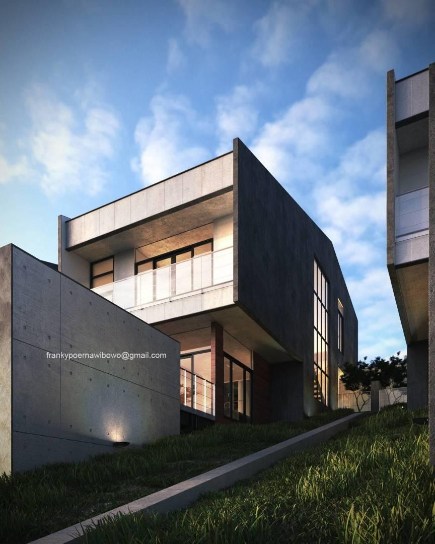 Franky Wibowo Minimal House Bandung, West Java, Indonesia Bandung, West Java, Indonesia Exterior Modern  6463
