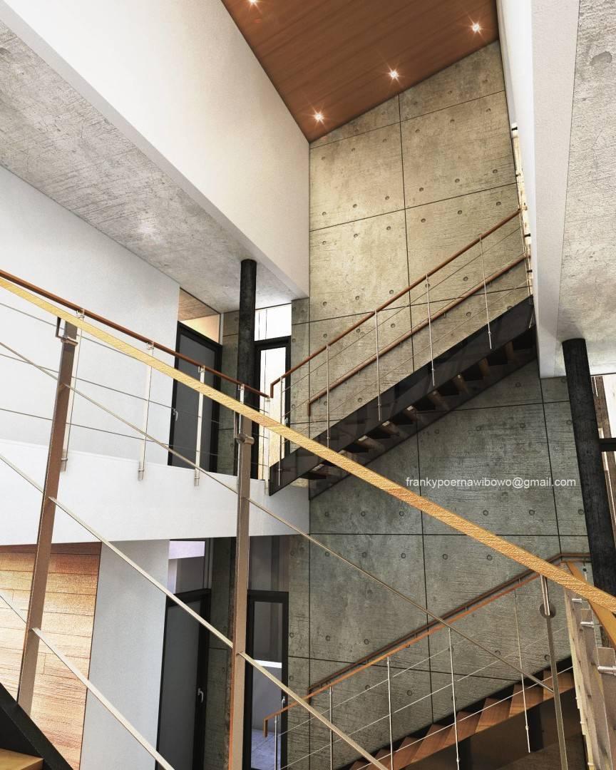 Franky Wibowo Minimal House Bandung, West Java, Indonesia Bandung, West Java, Indonesia Stairs Modern  6464