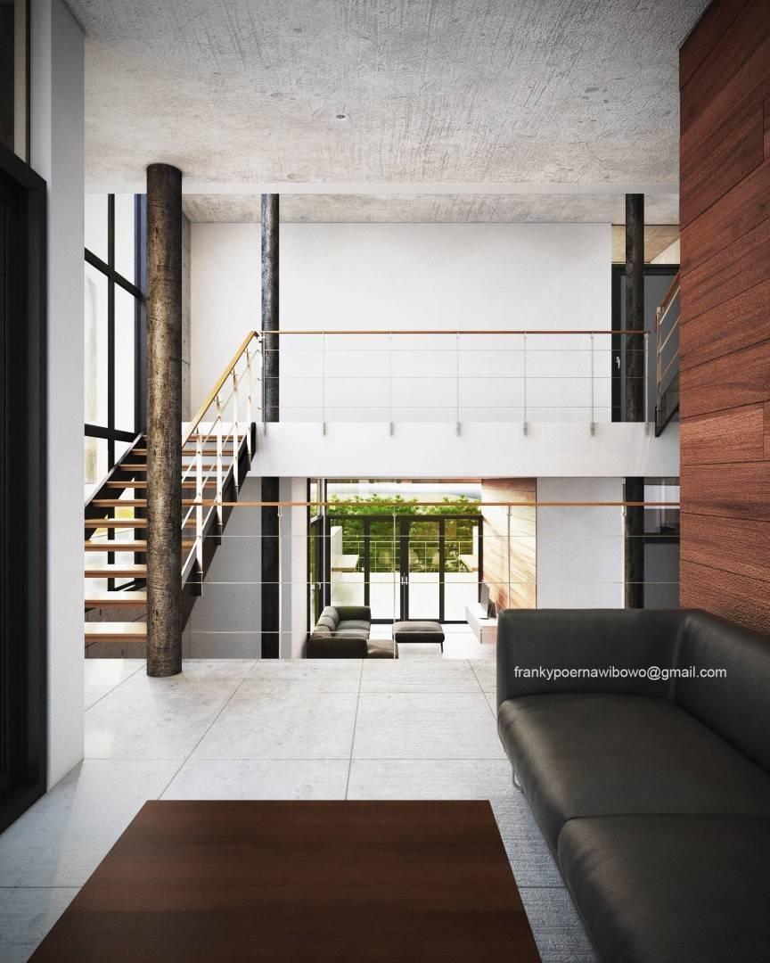 Franky Wibowo Minimal House Bandung, West Java, Indonesia Bandung, West Java, Indonesia Living Room Modern  6468