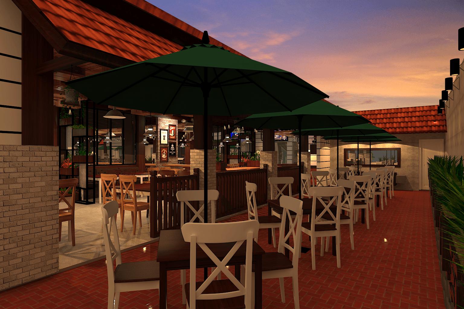 Ambrose Living Cafe  Jakarta Jakarta View-9 Modern  6523
