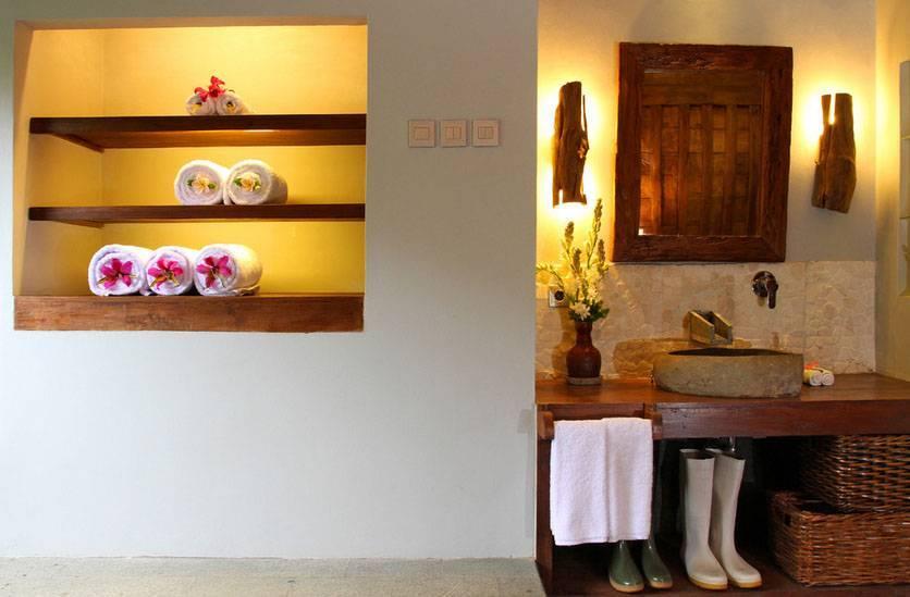 Iwan Sastrawiguna Reclaimed Wooden Bathrooms Indonesia Indonesia Bathroom Kontemporer,klasik  6661