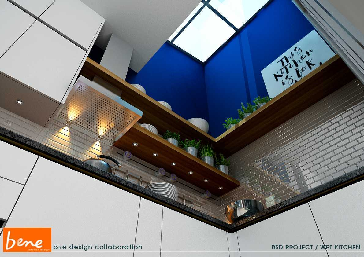 Bene Kitchen Desain Bsd Bsd Wet-Kitchen-View-02 Modern  12813