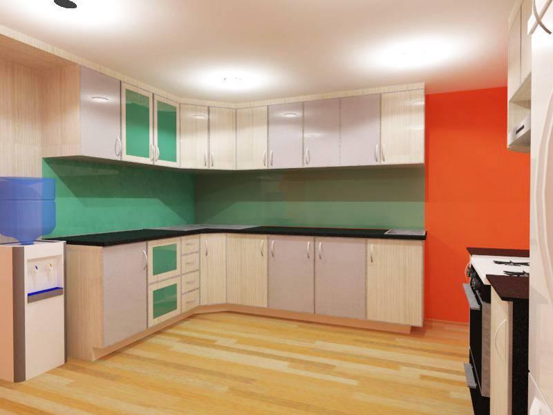 Nur Mala Sari Kitchen Renovation Aston Rasuna Apartment Aston Rasuna Apartment Kitchen Modern  6671