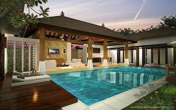 Ed Architect Bali Bliss Villa At Seminyak Bali, Indonesia Bali, Indonesia Swimming-Pool2 Tradisional  6704
