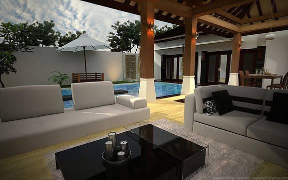 Ed Architect Bali Bliss Villa At Seminyak Bali, Indonesia Bali, Indonesia Terrace3 Tradisional  6707