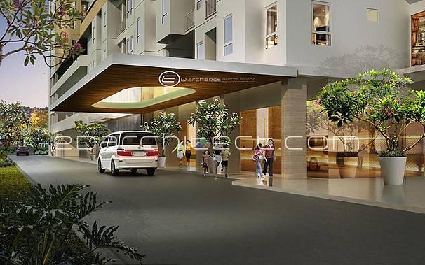 Ed Architect One Sentosa Apartment Bekasi, Indonesia Bekasi, Indonesia Lobby Modern  6745