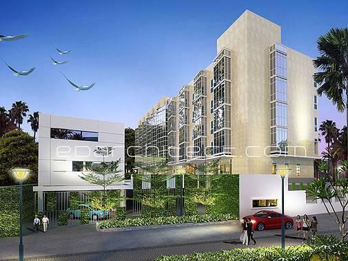 Ed Architect Mampang Square Jakarta, Indonesia Jakarta, Indonesia Perspective3 Modern  6728