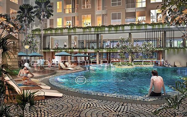 Ed Architect Elpis Apartment At Gunung Sahari Jakarta, Indonesia Jakarta, Indonesia Swimming-Pool   6759