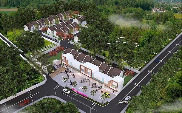 Ed Architect Bloosom Residence At Cileduk Jakarta, Indonesia Jakarta, Indonesia Bird-Eye-View Minimalis  6781