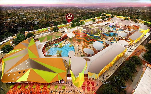 Ed Architect Columbus Waterpark Bekasi, Indonesia Bekasi, Indonesia Bird-Eye-View Modern  6787