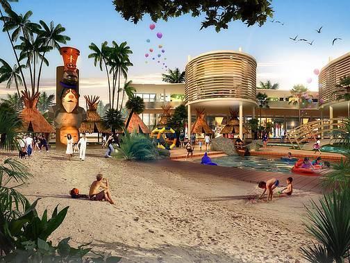 Ed Architect Columbus Waterpark Bekasi, Indonesia Bekasi, Indonesia Waterpark1 Modern  6788