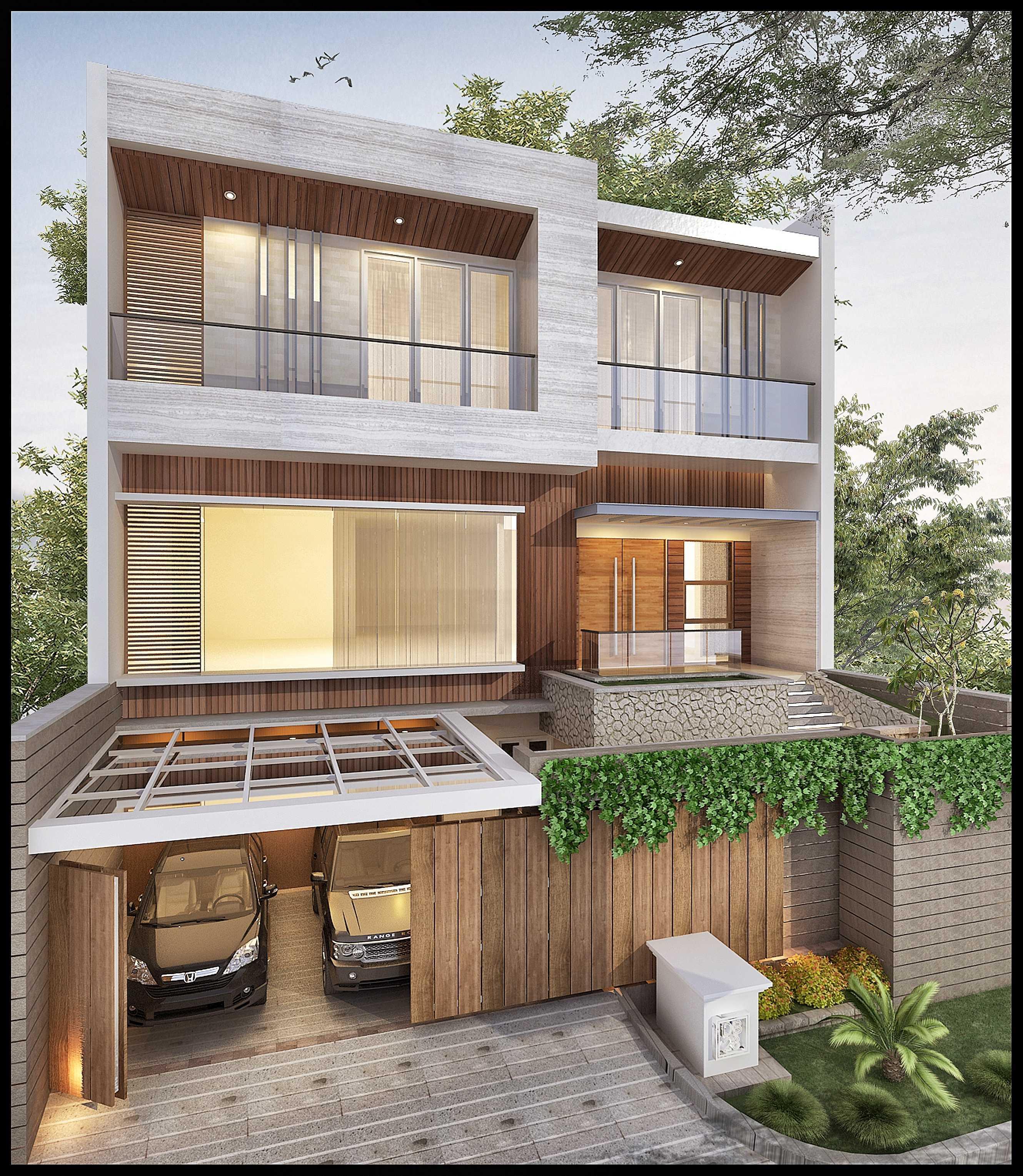 Ed Architect Modern Private House 2 Kelapa Gading, North Jakarta City, Jakarta, Indonesia Kelapa Gading, North Jakarta City, Jakarta, Indonesia R8Final-Mr-Handy-View-02 Modern  34392