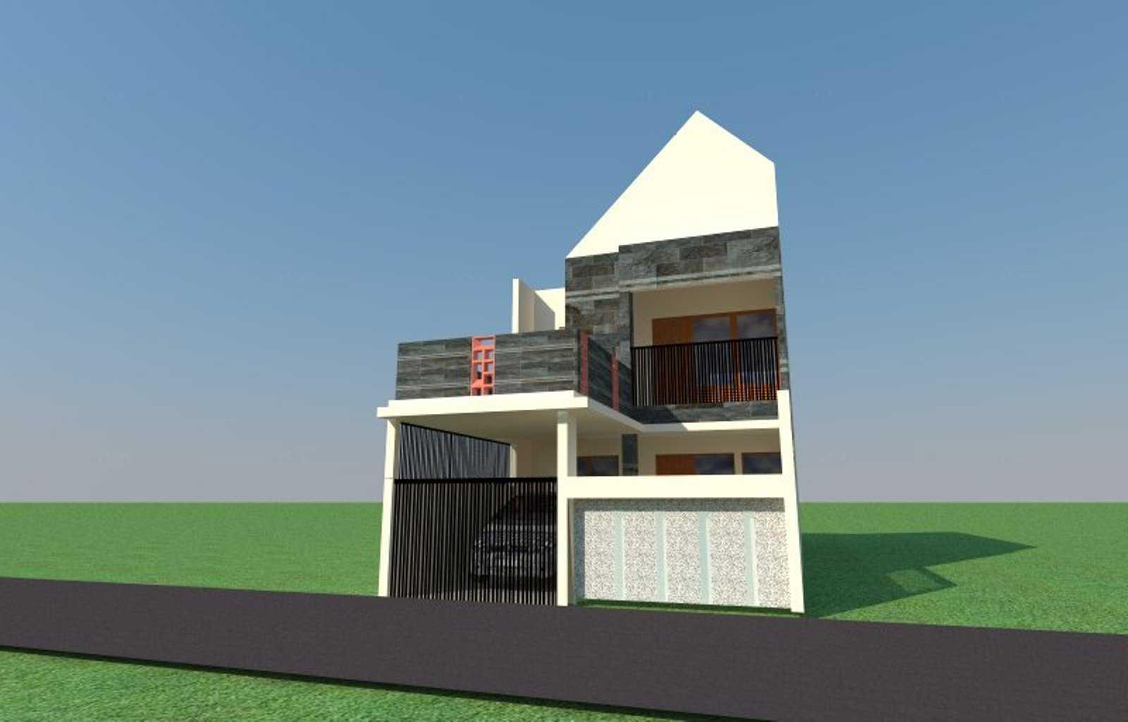 Sujud Gunawan Studio House Vmv Cileungsi, Bogor, Jawa Barat, Indonesia Cileungsi A6 Kontemporer  13764