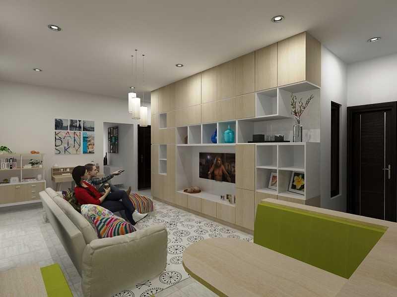 Sujud Gunawan Studio Interior Jatisari Jatisari, Pondok Gede Jatisari, Pondok Gede Livingroom Modern  12692