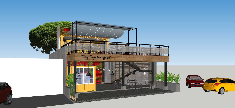 Sujud Gunawan Studio Soci@l Cafe-Bar-Kitchen Sunter, Jakarta Sunter, Jakarta Front View Industrial  16768