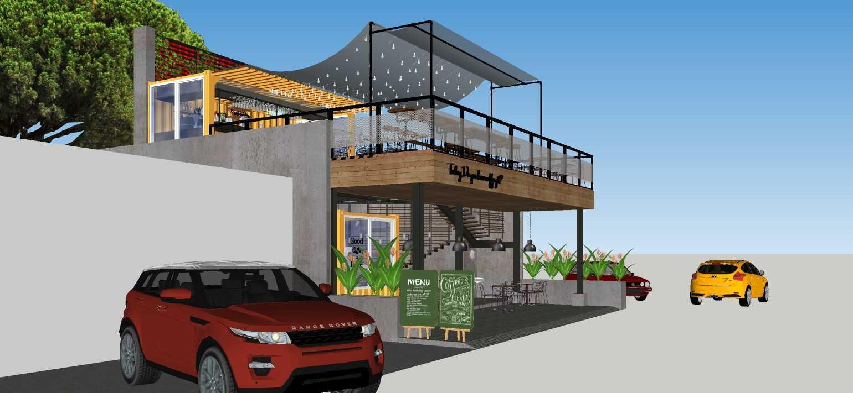Sujud Gunawan Studio Soci@l Cafe-Bar-Kitchen Sunter, Jakarta Sunter, Jakarta Side View Industrial  16769