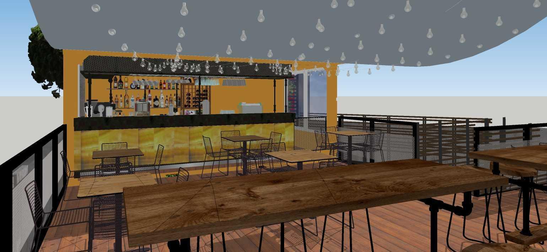 Sujud Gunawan Studio Soci@l Cafe-Bar-Kitchen Sunter, Jakarta Sunter, Jakarta Dining Area Industrial  16776