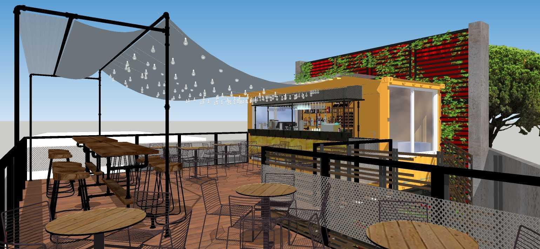 Sujud Gunawan Studio Soci@l Cafe-Bar-Kitchen Sunter, Jakarta Sunter, Jakarta Dining Area Industrial  16777