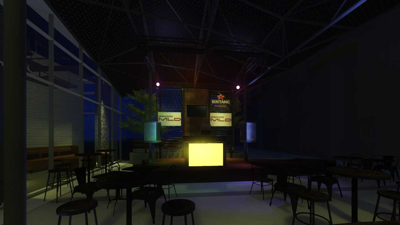 Sujud Gunawan Studio Juan's Coffee At Intermark Tangerang, Tangerang City, Banten, Indonesia  02 Industrial  33963