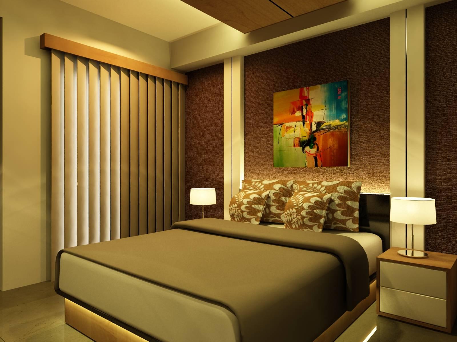 Pt Ergonomi Cipta Karya Atria Apartemen Gading Serpong, Tangerang Gading Serpong, Tangerang Bedroom Kontemporer  7003