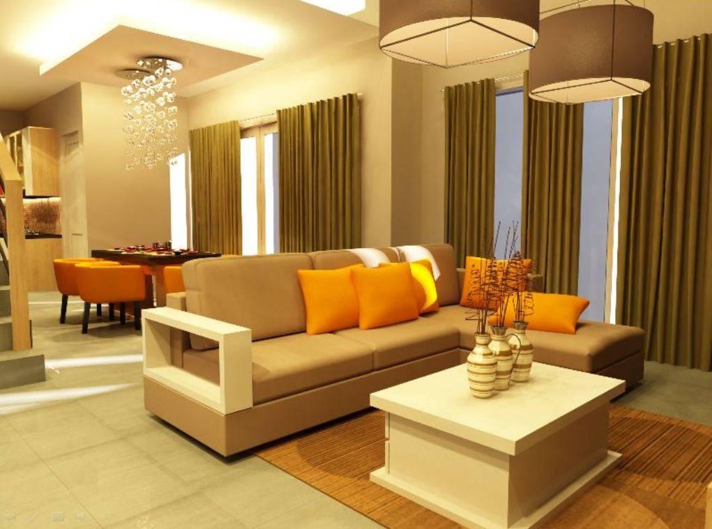 Pt Ergonomi Cipta Karya Private Residence The Leaf Citra Raya, Tangerang Citra Raya, Tangerang Living Room Modern  7023
