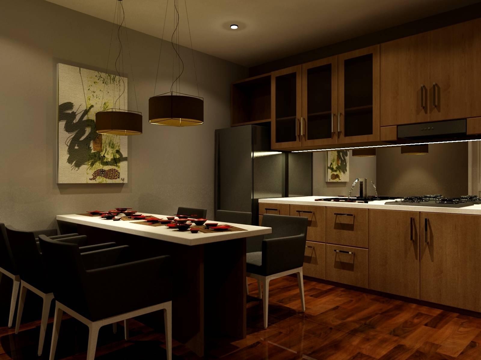 Pt Ergonomi Cipta Karya Private Residence Priuk Jaya Priuk Jaya Priuk Jaya Dining Room   7453