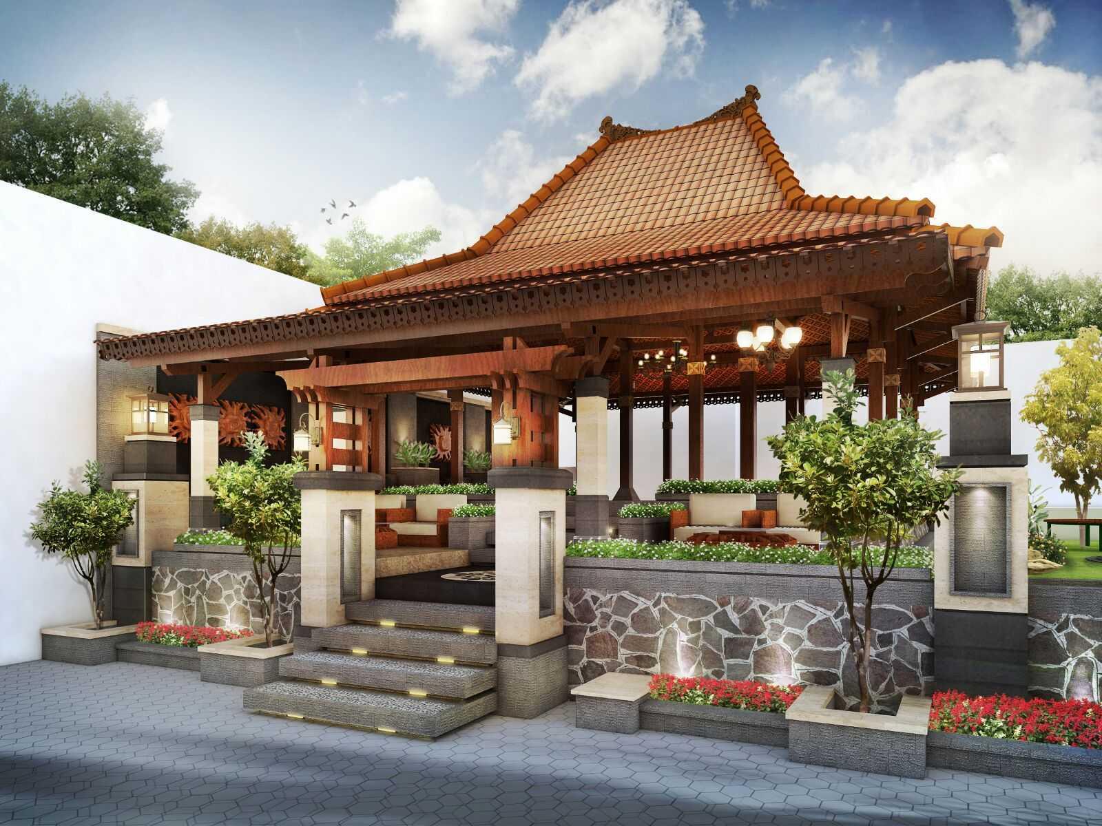 Hendra Budi Architect Chinese Joglo House Yogyakarta, Indonesia Yogyakarta, Indonesia Front-View-1 Asian  8318
