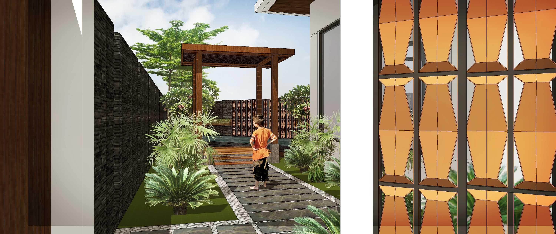 Hendra Budi Architect Privat House Tangerang Tangerang Tangerang Side Garden Modern  16898