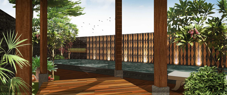 Hendra Budi Architect Privat House Tangerang Tangerang Tangerang Swimming Pool Modern  16899