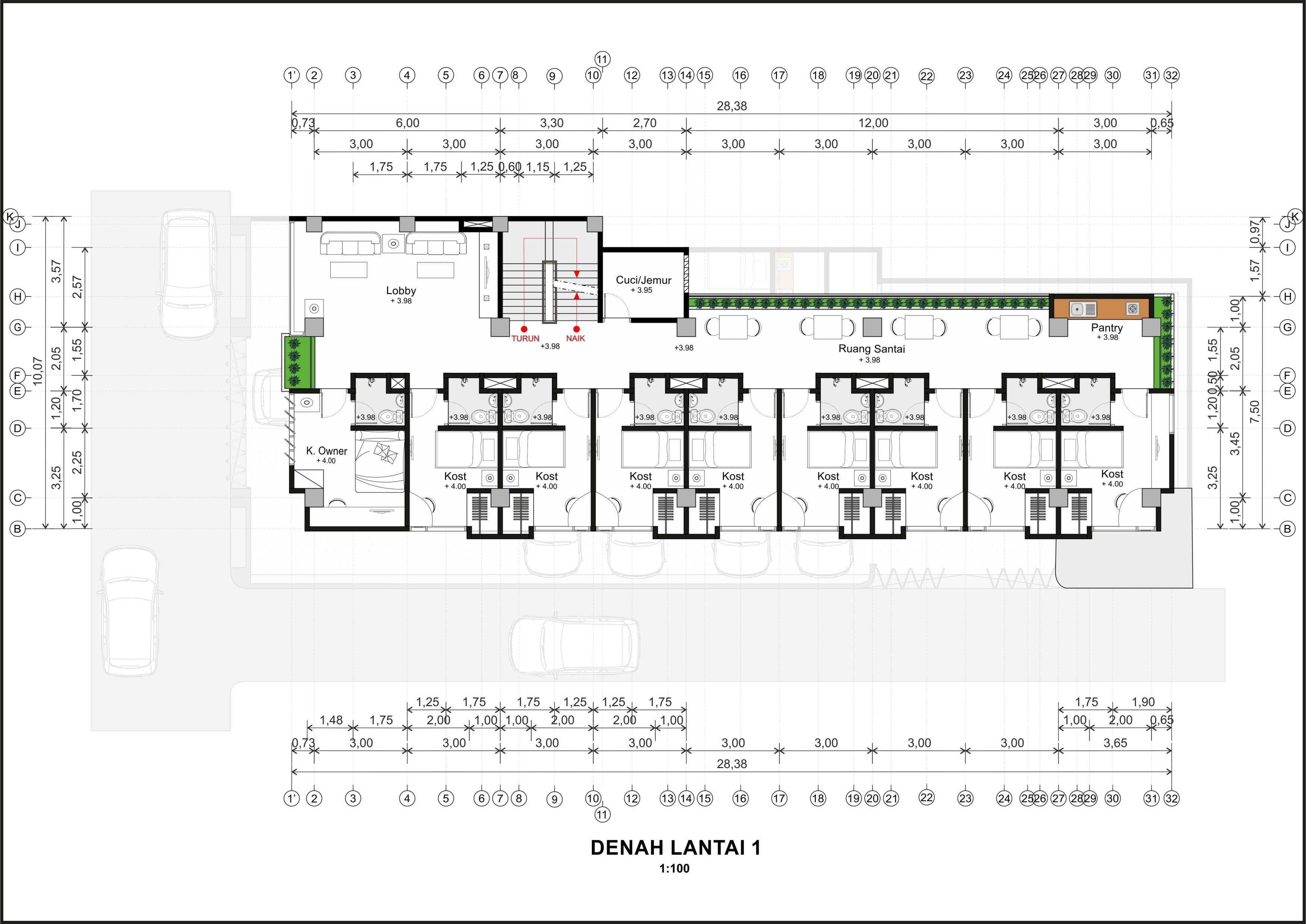 Hendra Budi Architect Wisma Sarjana Yogyakarta Yogyakarta Denah-Lantai-1   16374