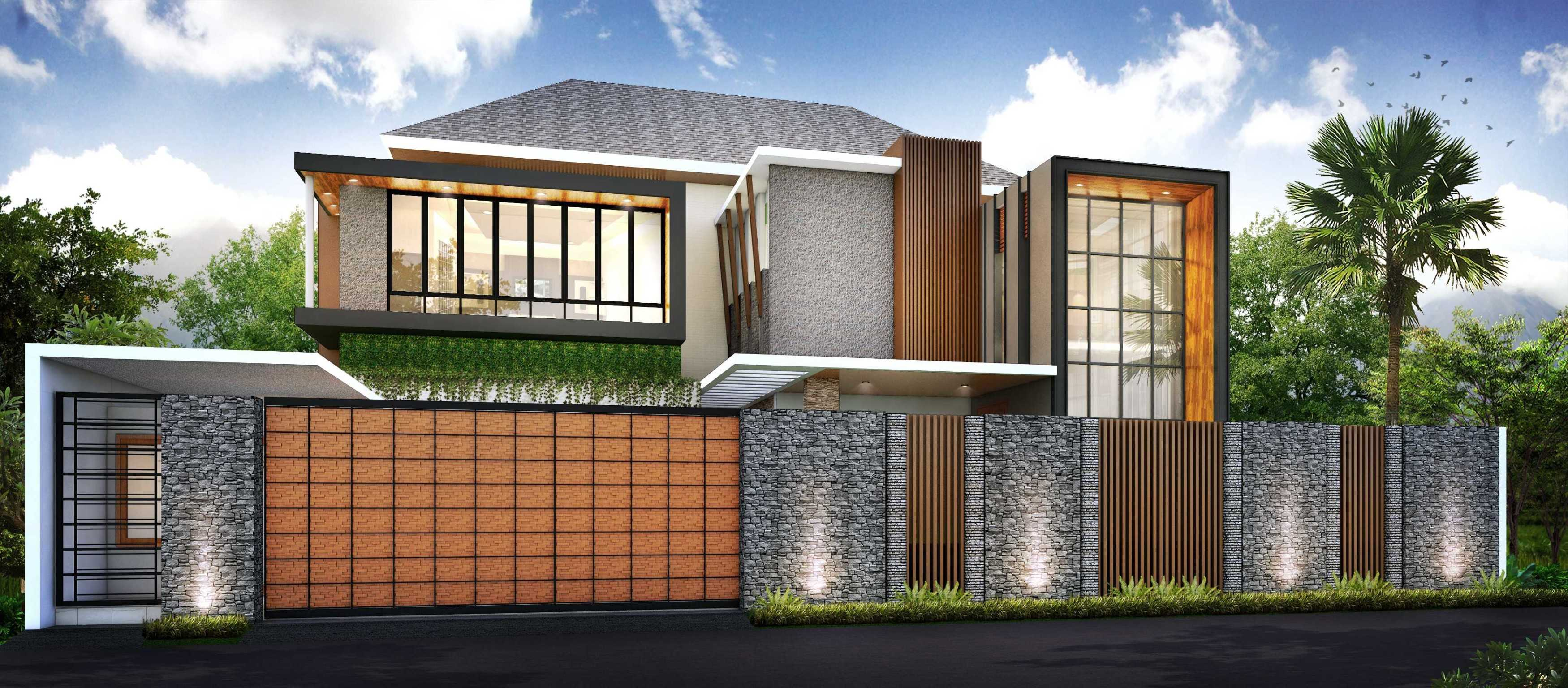 Hendra Budi Architect Privat House Klaten Klaten, Jawa Tengah Klaten, Jawa Tengah Front View Modern  16451